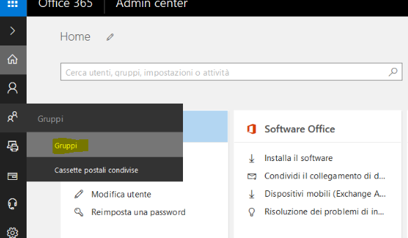 Office365 inviare e ricevere con un alias dell'indirizzo mail principale